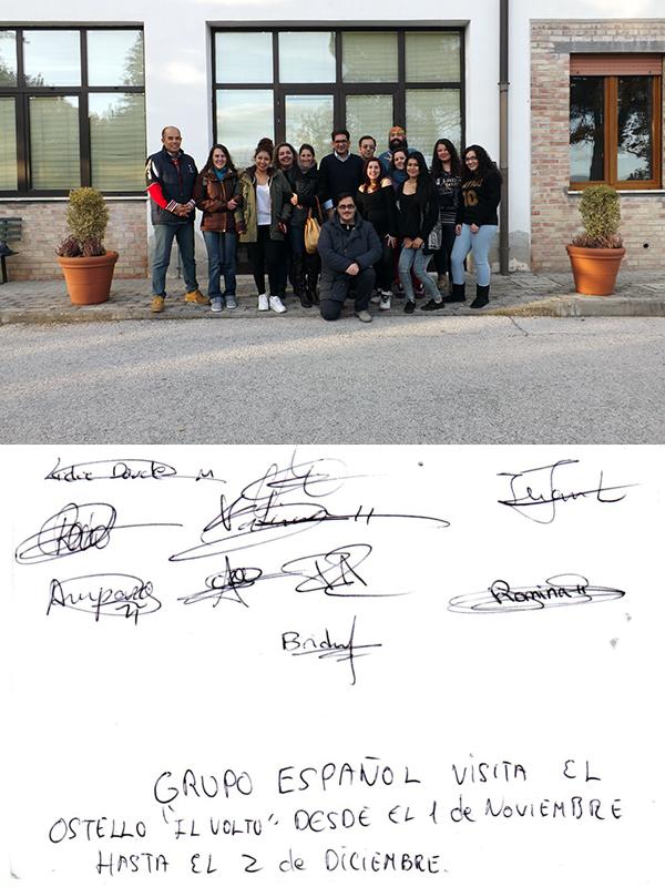 Il Volto con gruppo spagnolo