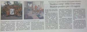 Quotidiano - Basileus Camp CRI 2015 - 05-08-2015